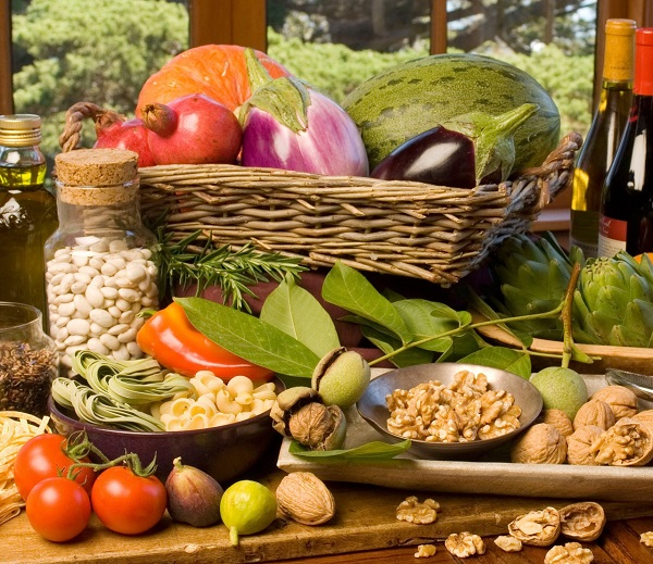 healthy food rich in vitamins and nutrients