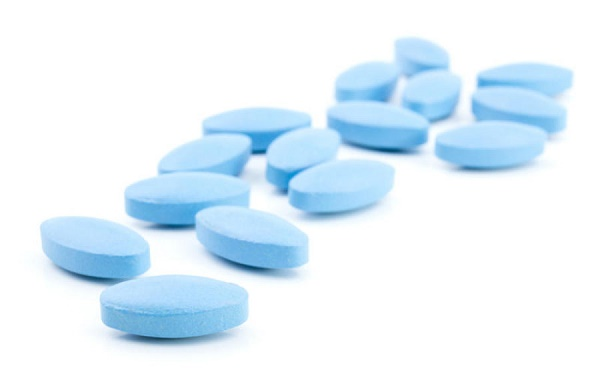 blue Viagra tablets for impotence