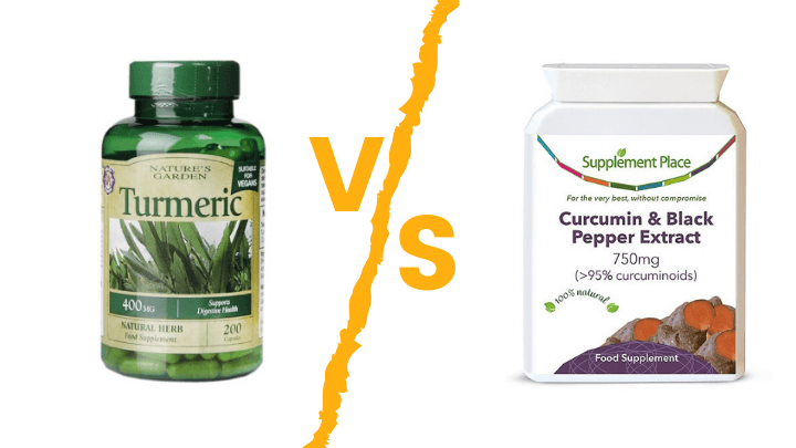Holland & Barrett Turmeric vs Supplement Place Turmeric |  A Review & Comparison 1