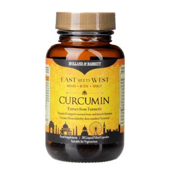 Holland & Barrett liquid curcumin - East Meets West (Capsules) supplement