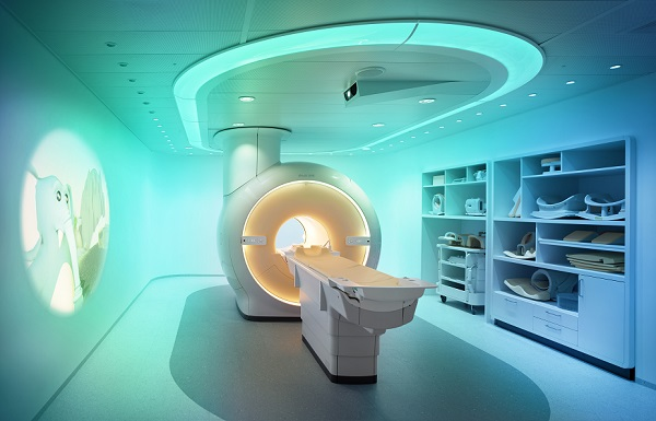 MRI scanner to measure visceral fat ratings