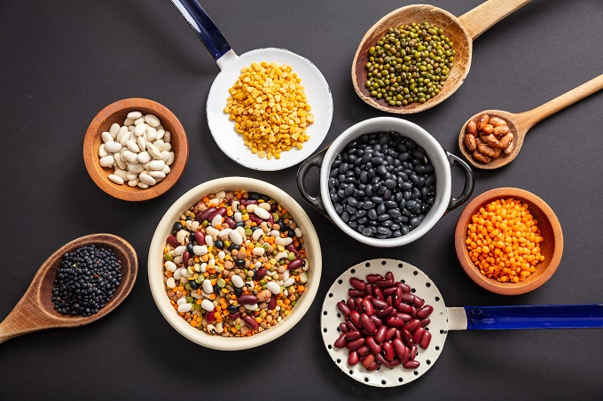 beans, pulses and lentils