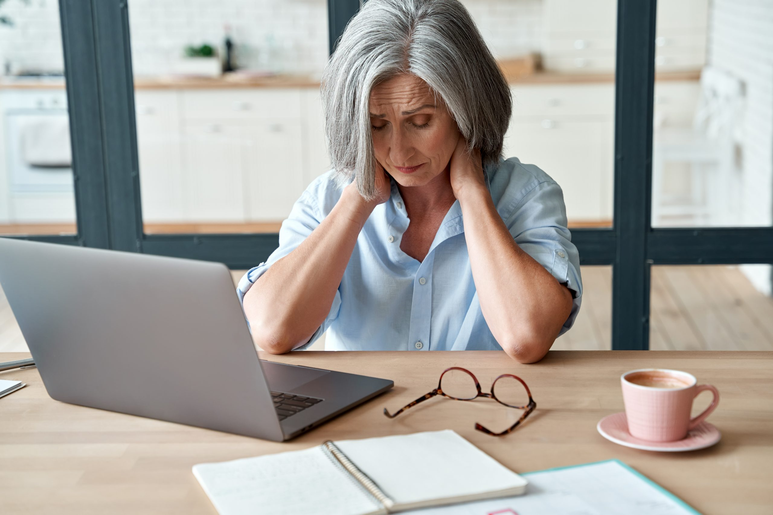 woman suffering from menopause fatigue