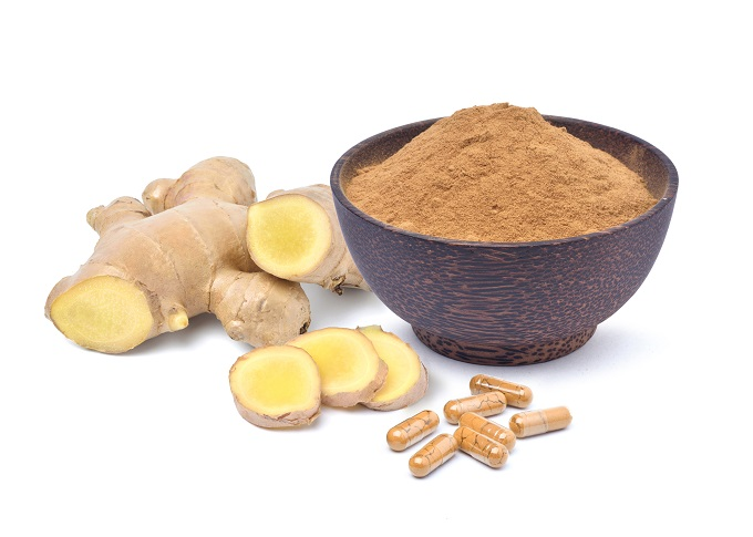 ginger can be used to combat headhaches caused by the menopause