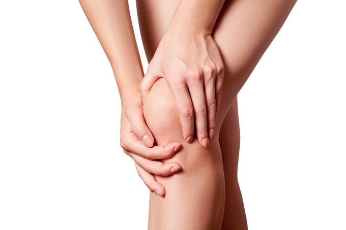 knee pain caused by menopause