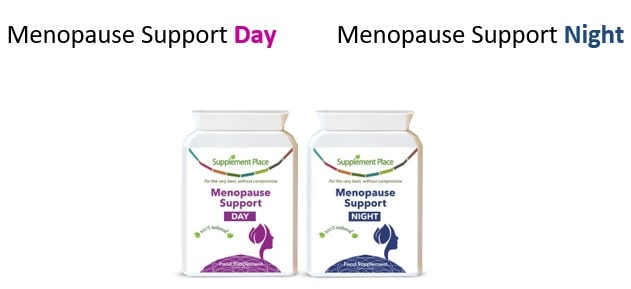 Menopause Day and Menopause Night support capsules
