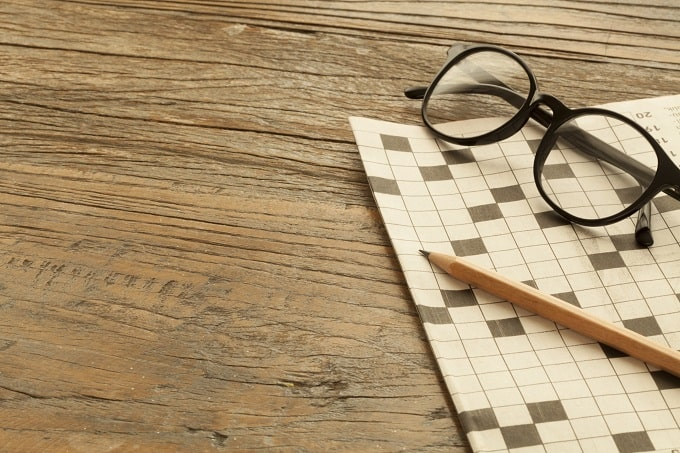 Quizzes and crosswords keep the brain active to prevent age-related cognitive decline