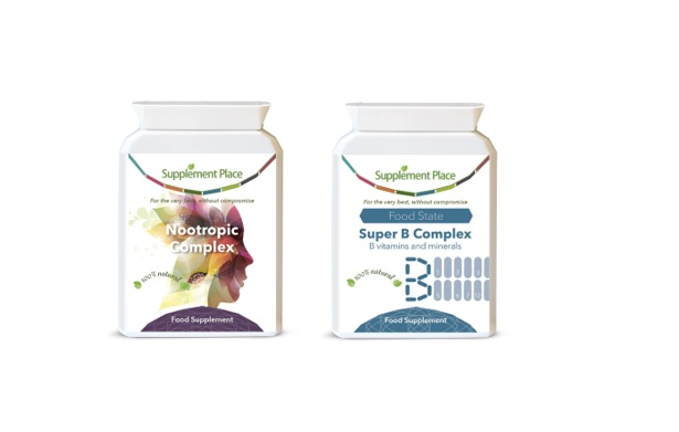 Nootropic Complex and Super B Complex contain Choline for memory