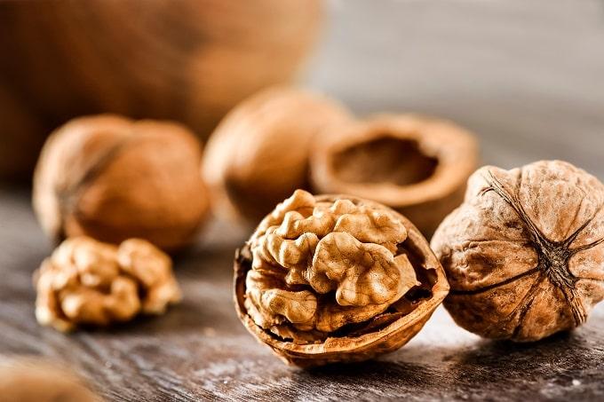Walnuts contain good fats to maintain heart health