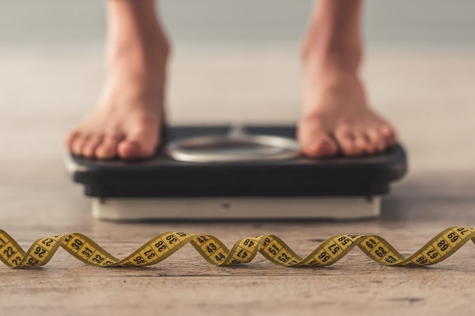 Maintain weight levels to improve heart health