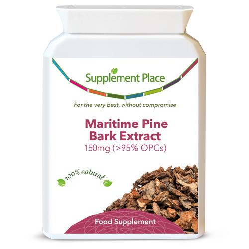 Maritime Pine Bark can help to increase circulation