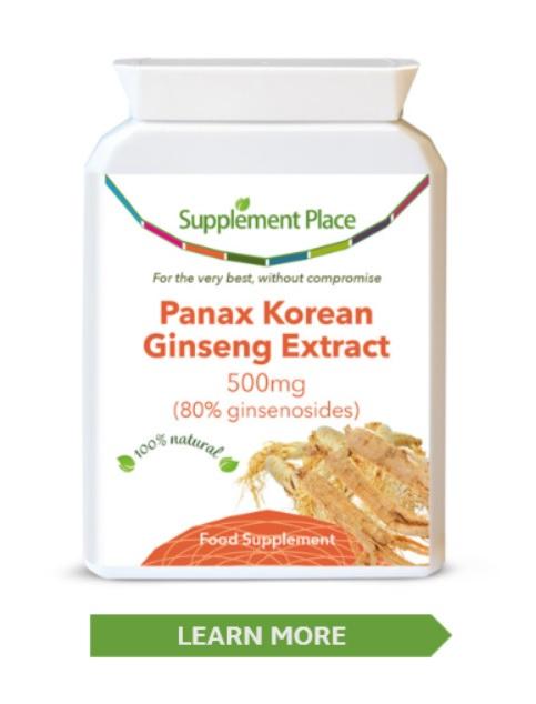Panax Korean Ginseng - Beneficial for stess