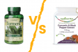Holland & Barrett Turmeric vs Supplement Place Turmeric |  A Review & Comparison